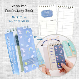 Color Dream Vocabulary Book Memo Pad