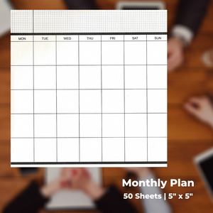 Business Style Planner Memo Pads