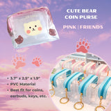 Cute Bear Coin Pouch