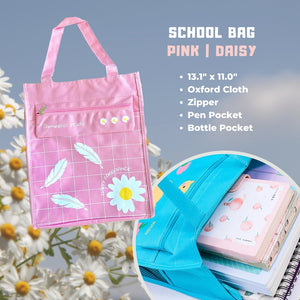 Daisy Oxford Cloth School Bag
