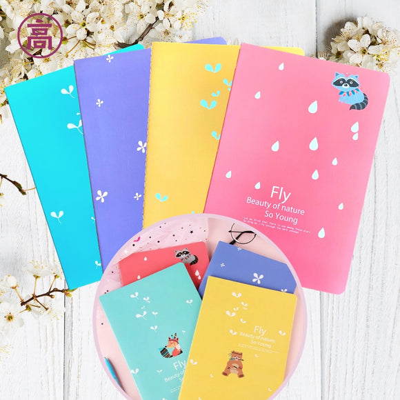 Animal Print Soft Cover Notebook