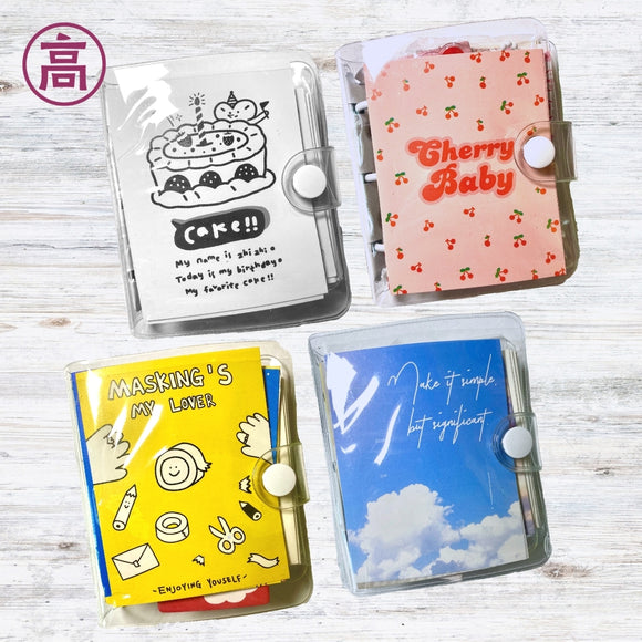 Mini Pocket-Sized Notebook Sets