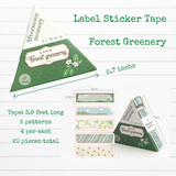 Afternoon Memory | Label Sticker Tape