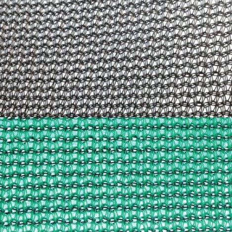 Commercial 80 Green and Black Shade Cloth