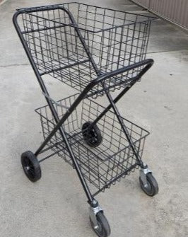 Jadee Coaching Trolley - Double Basket