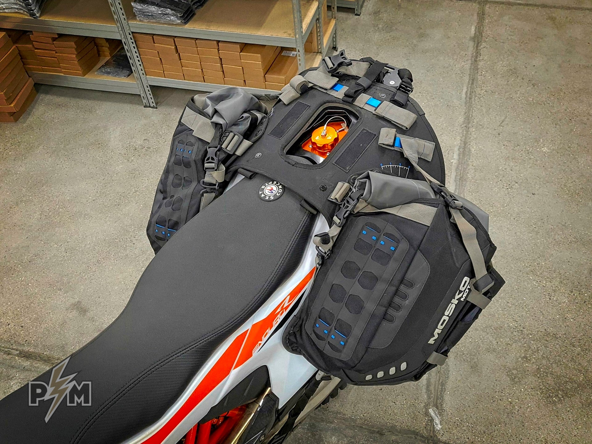 Mosko moto Reckless 80 Revolver (v3.0) on 2019 KTM 690 Enduro R