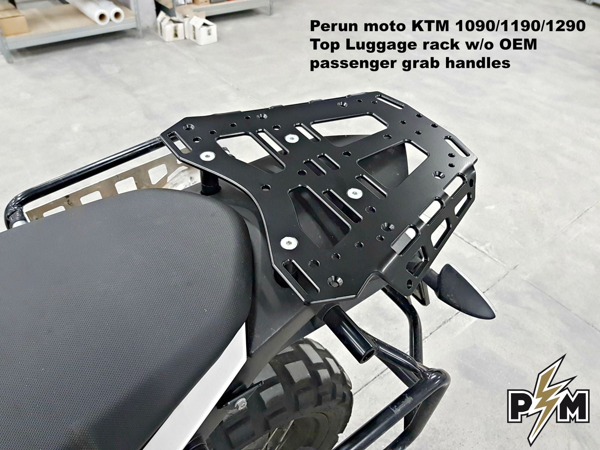 Perun moto KTM 1090/1190/1290 Top Luggage Rack - details