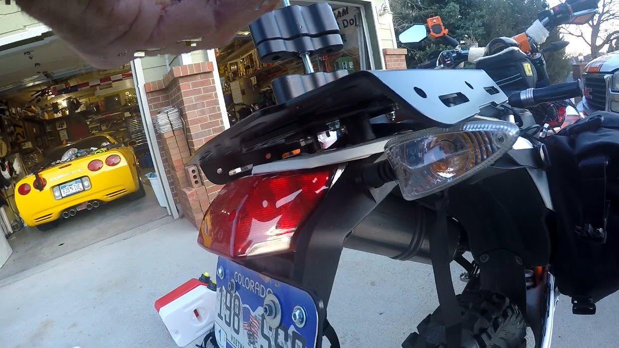 Perun moto Extension plate and US turn signals issue