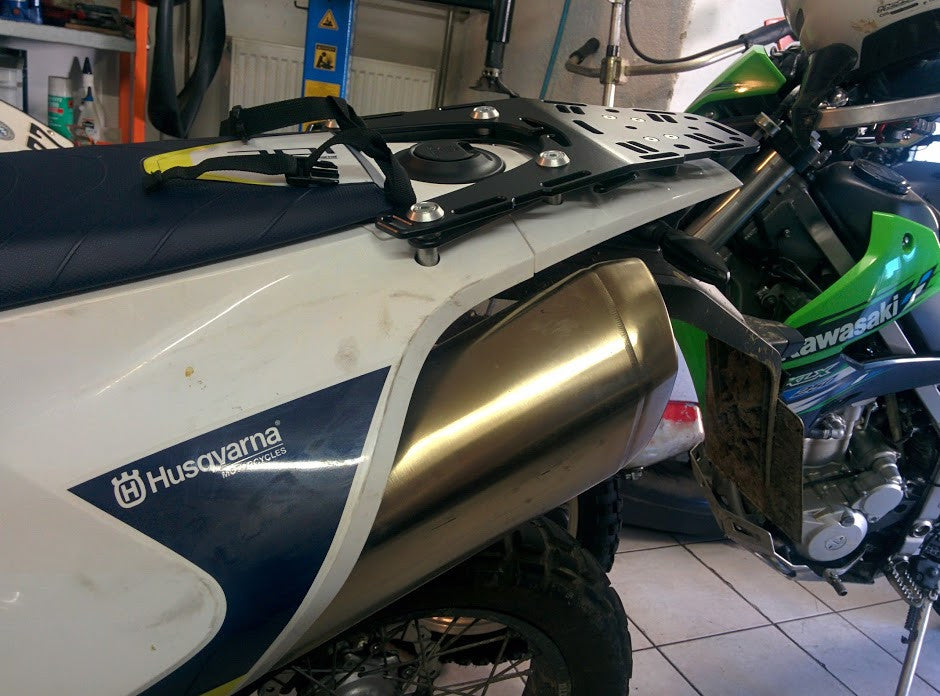 Perun moto Husqvarna 701 Luggage rack - customer photos