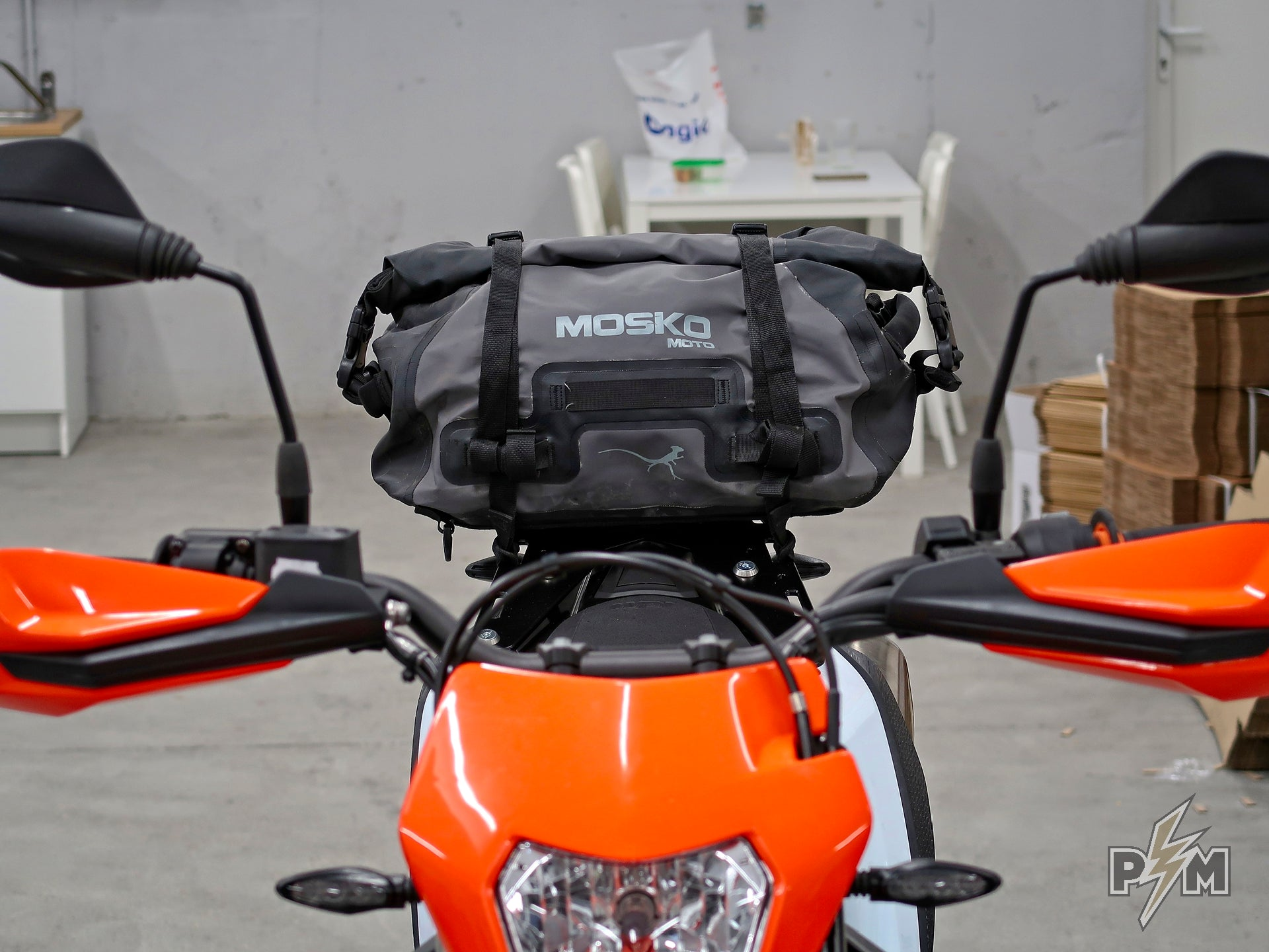 2019+ KTM 690 Enduro  Luggage rack and Mosko moto Scout 25 Duffle
