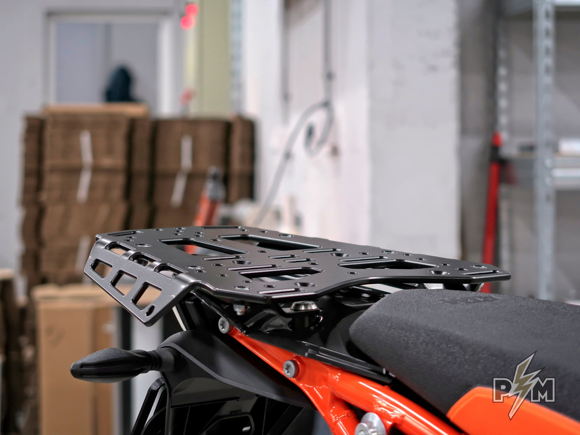790/1X90 Top luggage rack on KTM 790 Adventure R - brief overview
