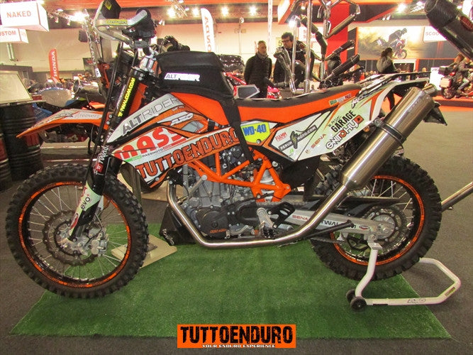 Tuttoenduro KTM 690 on Verona bike show
