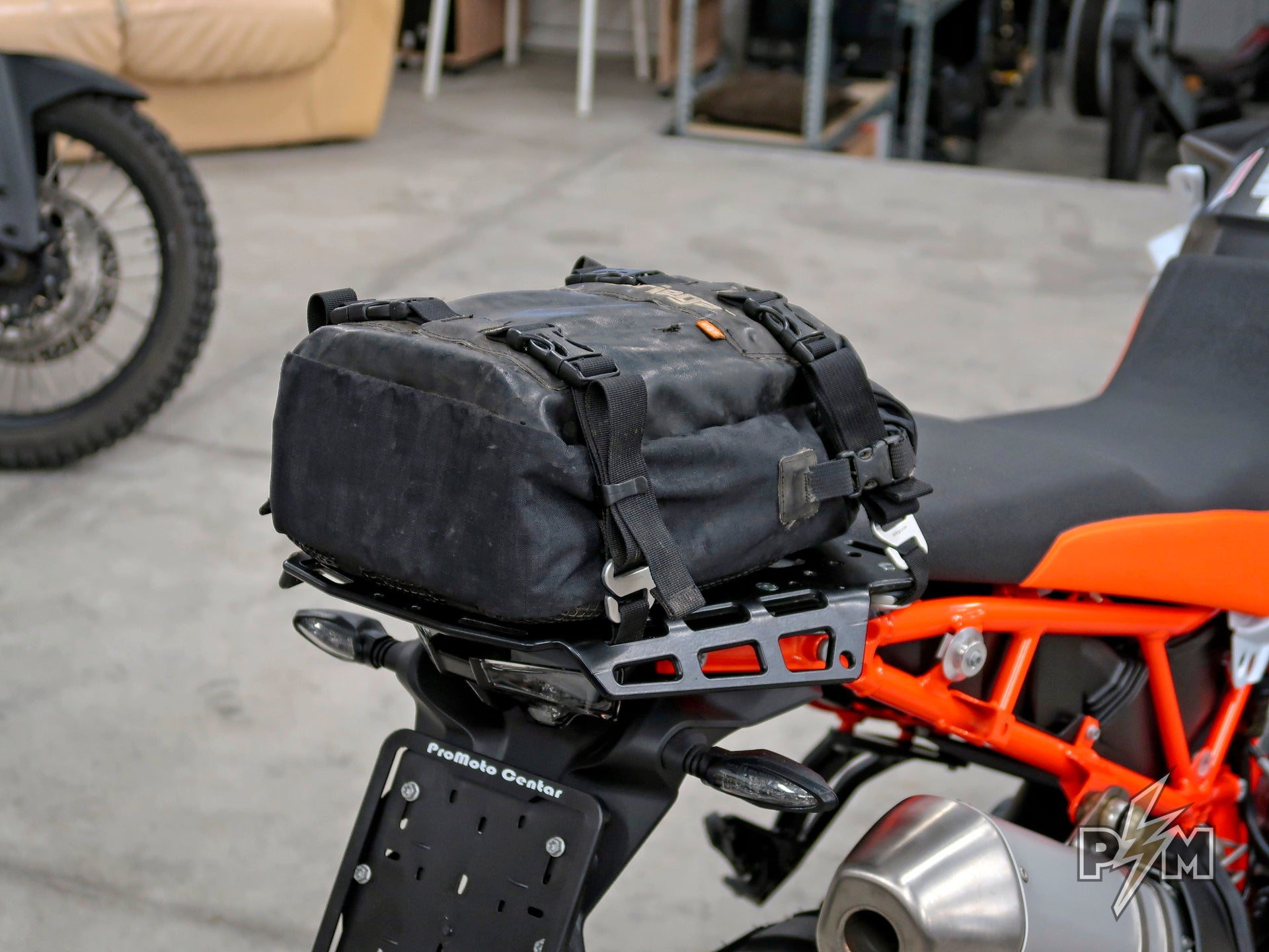 Kriega US bags on KTM 790 Adventure R