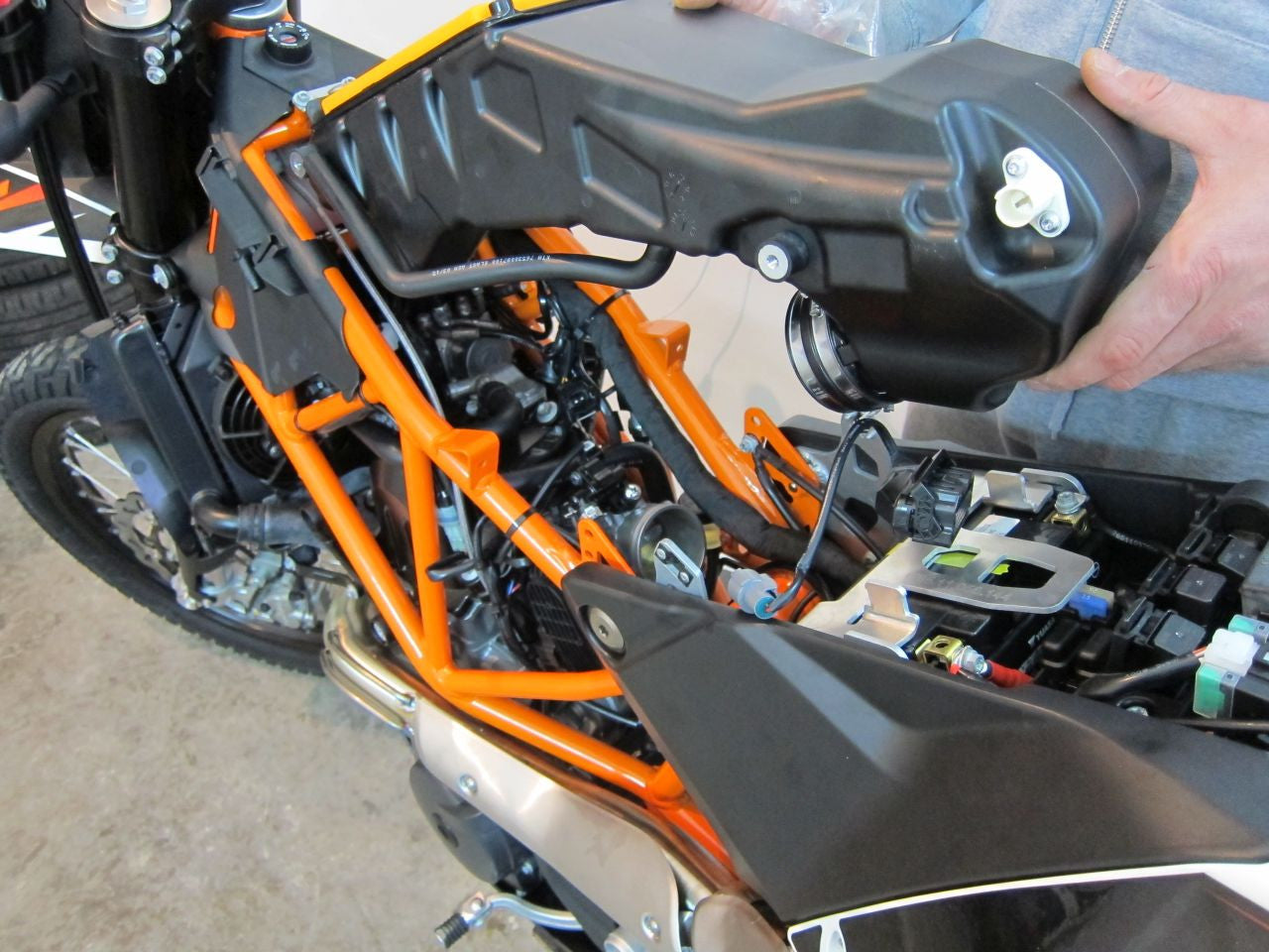 Ktm Wire Harness Routing Simple Wiring Diagram Site Libraries Bundle How To Remove Air Box On 2014