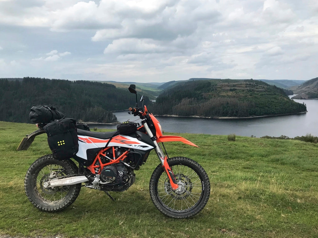 Perun moto KTM 690 Enduro Luggage rack (2019+) and Kriega OS-Base
