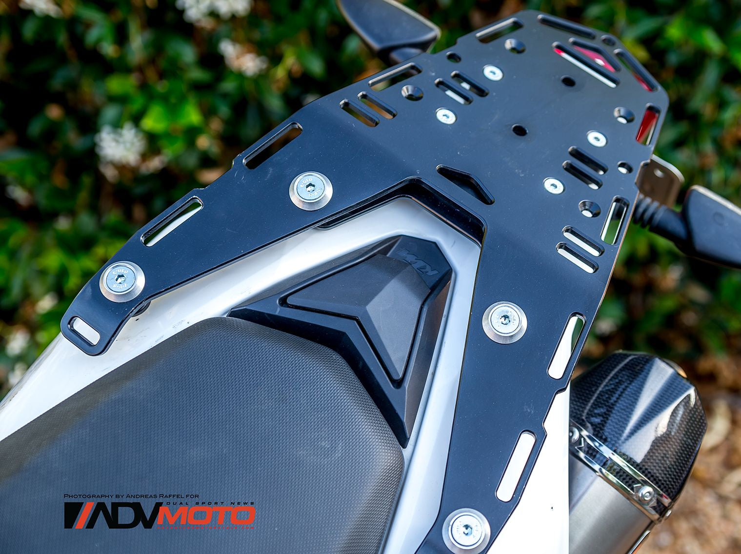Perun moto KTM 690 Enduro Luggage rack in AdvMoto Magazine!