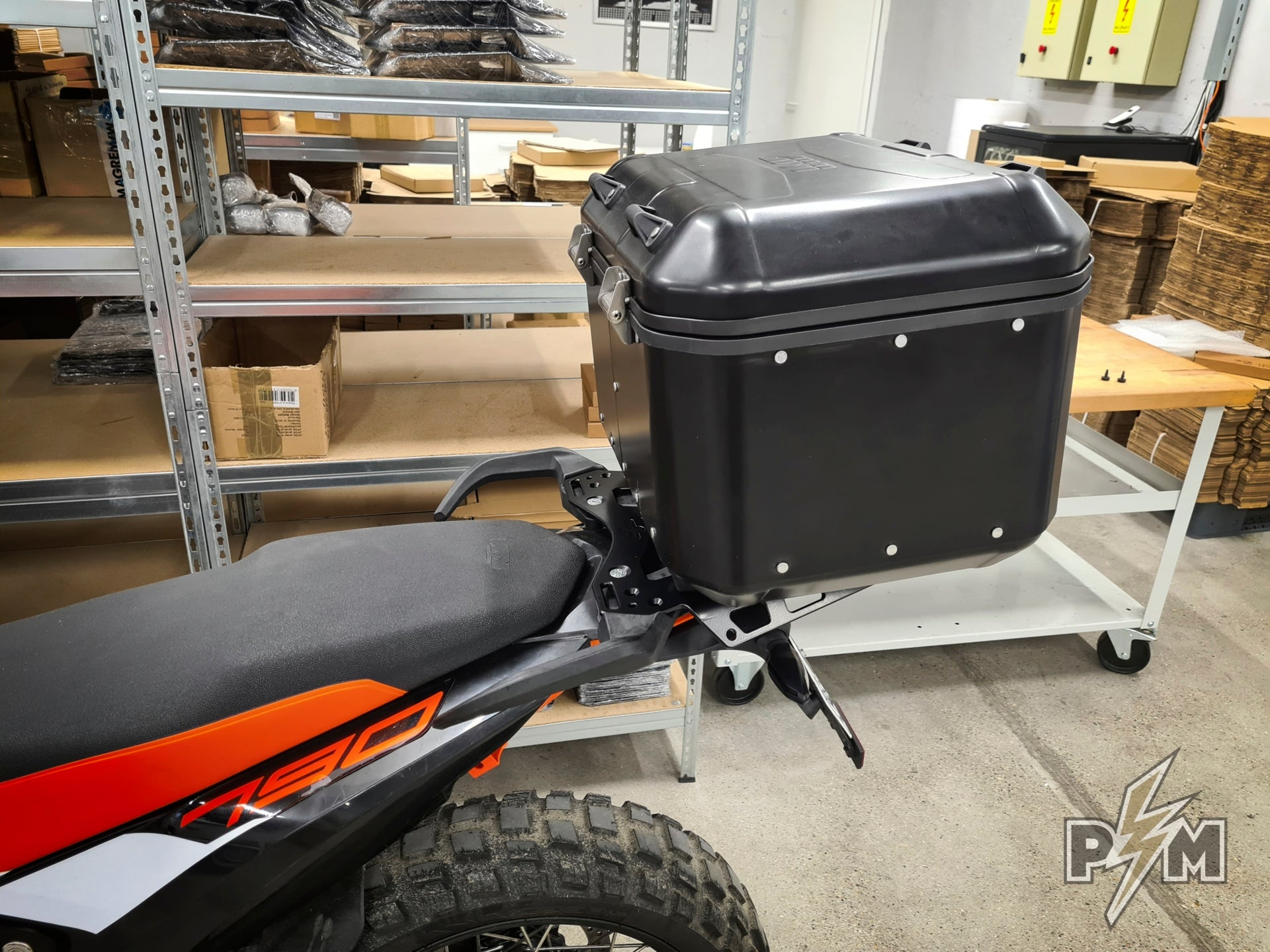 KTM 790/890 Billet rack - Large and top cases