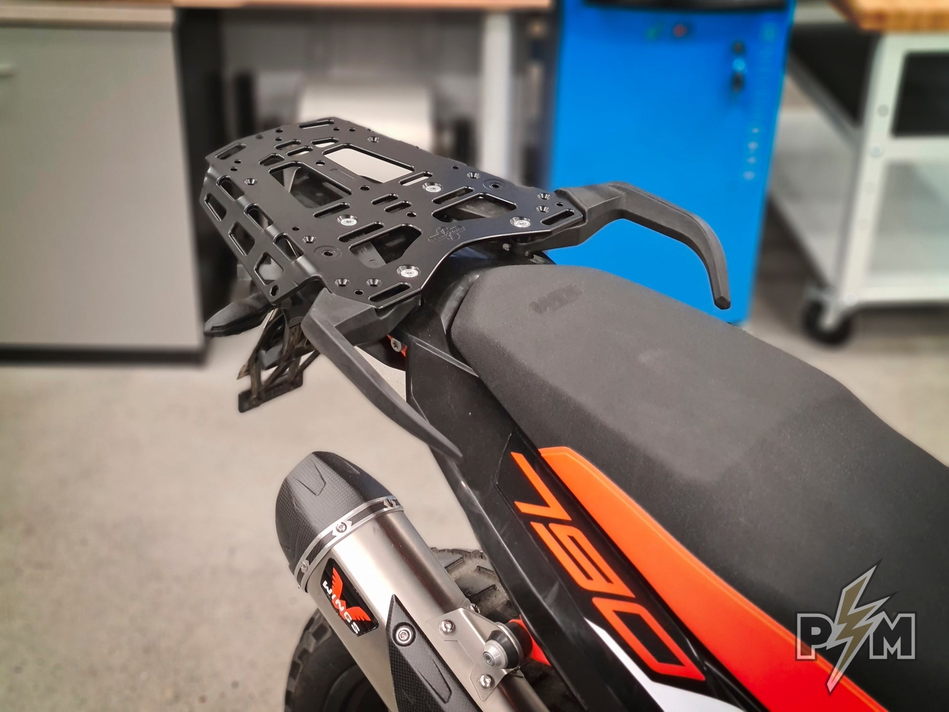 New and improved KTM 790/890 Top luggage rack!