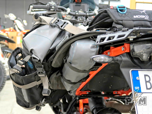Mosko moto Rackless 80 and Perun moto 790/890 Luggage rail