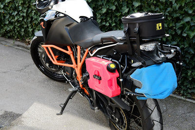 KTM 1190 Adventure R with KTM Pannier racks