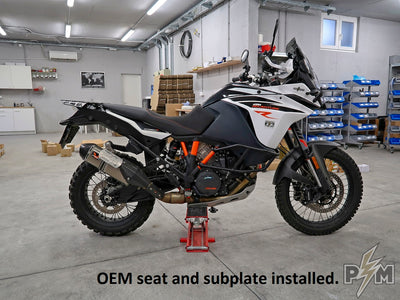 KTM 790/1X90 Top luggage rack Subplate