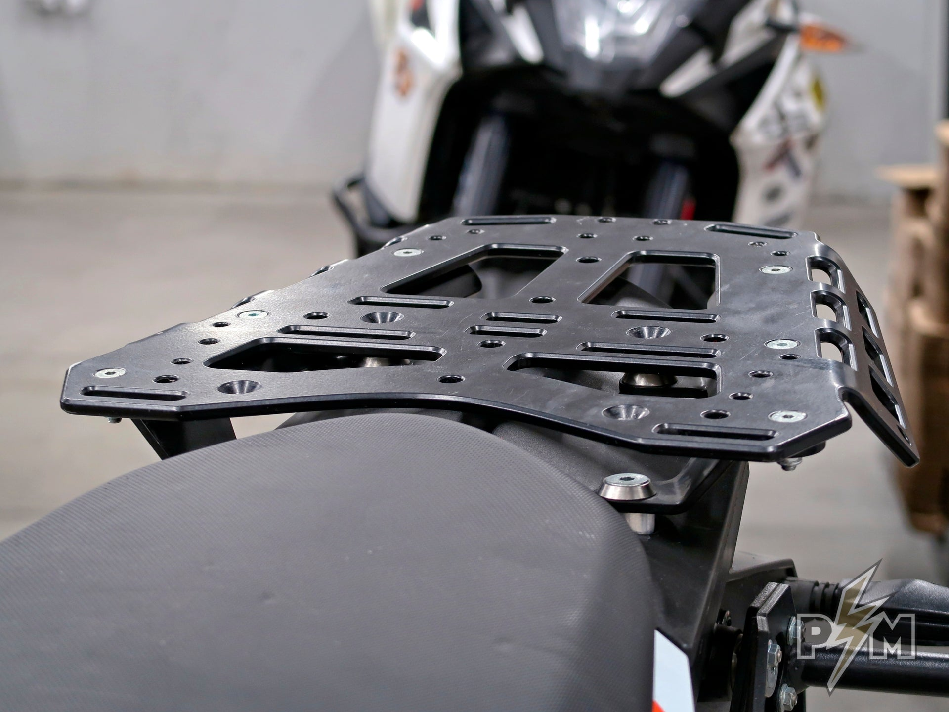 Subplate for KTM 1X90 Top luggage rack