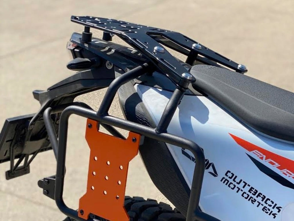 KTM 690 Enduro Luggage Rack SD (2019+) + Outback pannier racks - Integration kit