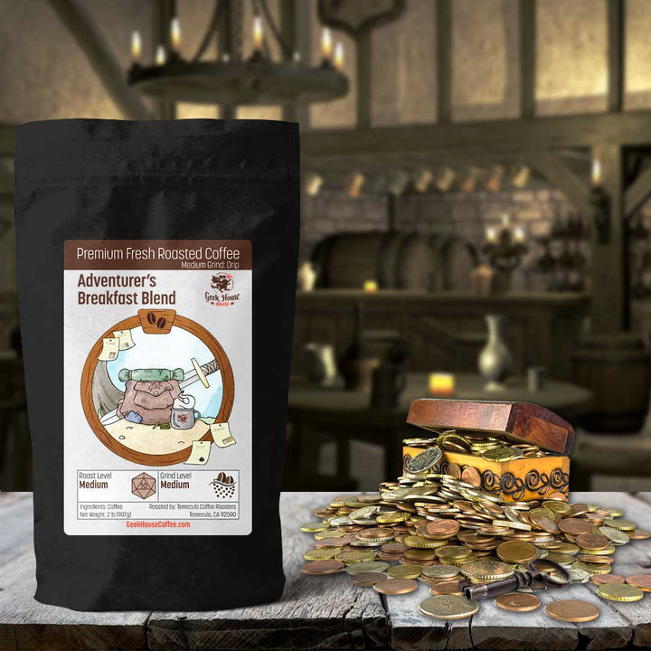 Adventurer's Breakfast Blend - Geek House Coffee