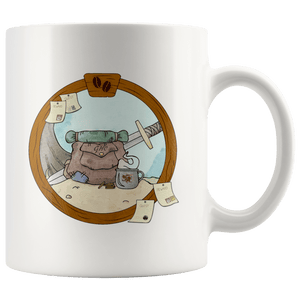Adventures 11oz Accent Mug - Geek House Coffee