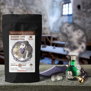 Assassins' Guild: Scorpion's Sting - Geek House Coffee
