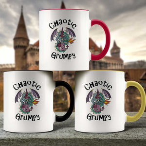 Chaotic Grumpy - 11oz Accent Mug - Geek House Coffee