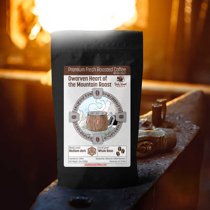 Dwarven Heart of the Mountain Roast - Geek House Coffee