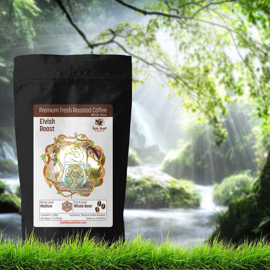 Elvish Roast - Geek House Coffee