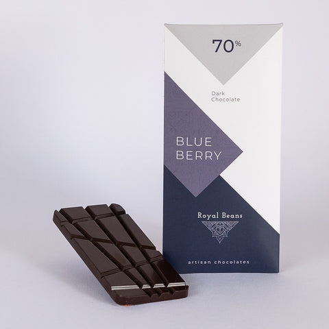 Blueberry & 70% Dark Chocolate Bar