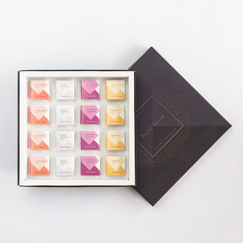 Chocolate Squares - Assorted Solid - Milk Chocolates (Box of 9 & 16)