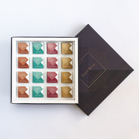 Chocolate Squares - Assorted Solid - Dark Chocolates (Box of 9 & 16)