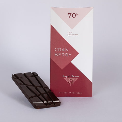 Cranberry & 70% Dark Chocolate Bar