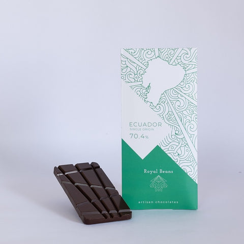 Ecuador (70.4%) – Single Origin Chocolate Bar