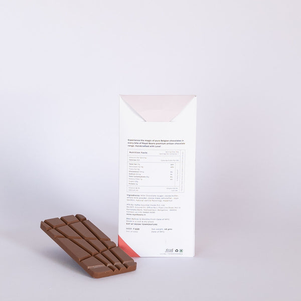 Hazelnut & Milk Chocolate Bar