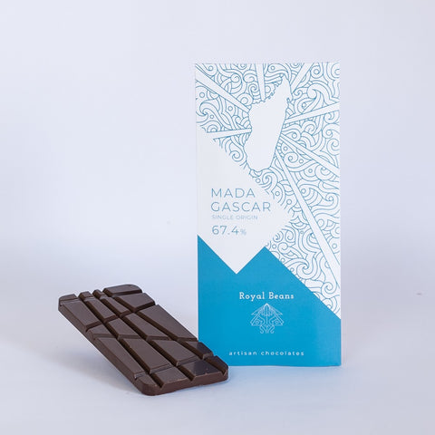 Madagascar (67.4%) - Single Origin Chocolate Bar