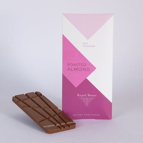 Roasted Almond & Milk Chocolate Bar