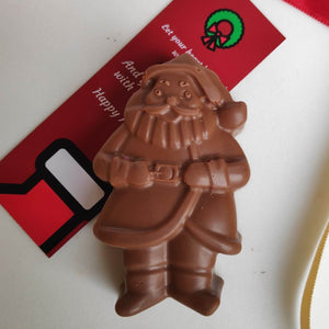 Chocolate Santa Claus ( 3D Chocolate)
