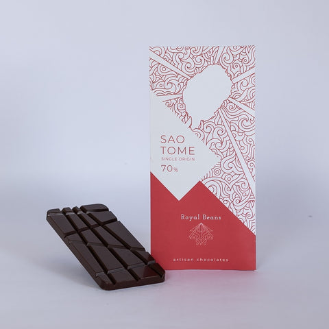 Sao Tome (70%) – Single Origin Chocolate Bar