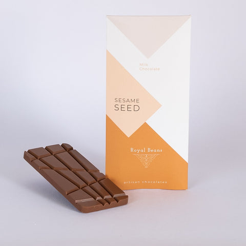 Toasted Sesame Seed & Milk Chocolate Bar