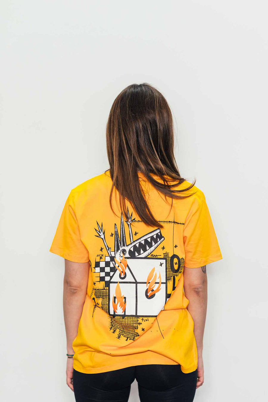 RAA x Otto London Tee - Gold Yellow