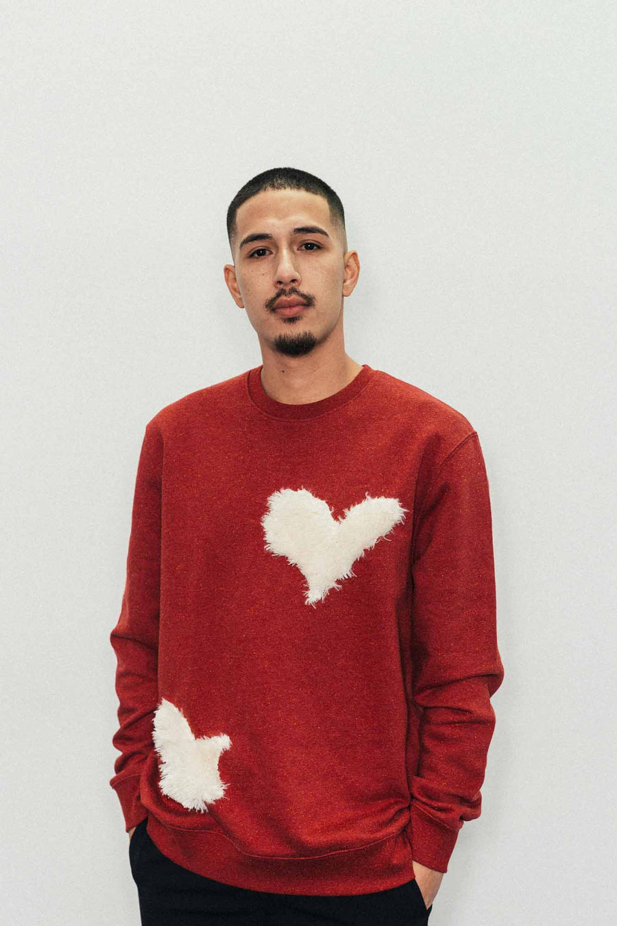 Heart and Dove Sweater