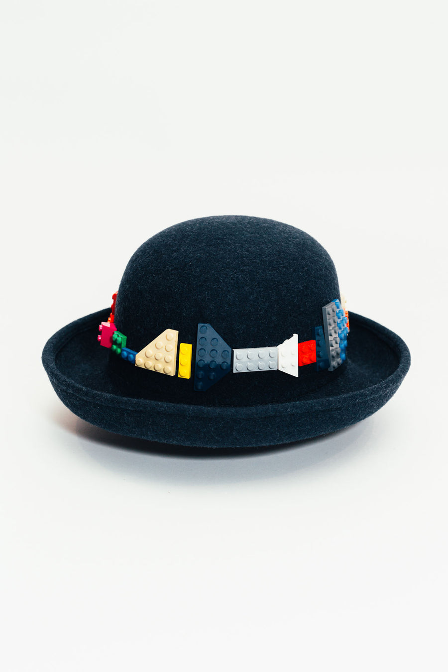Bricks Rainbow Bowler Hat