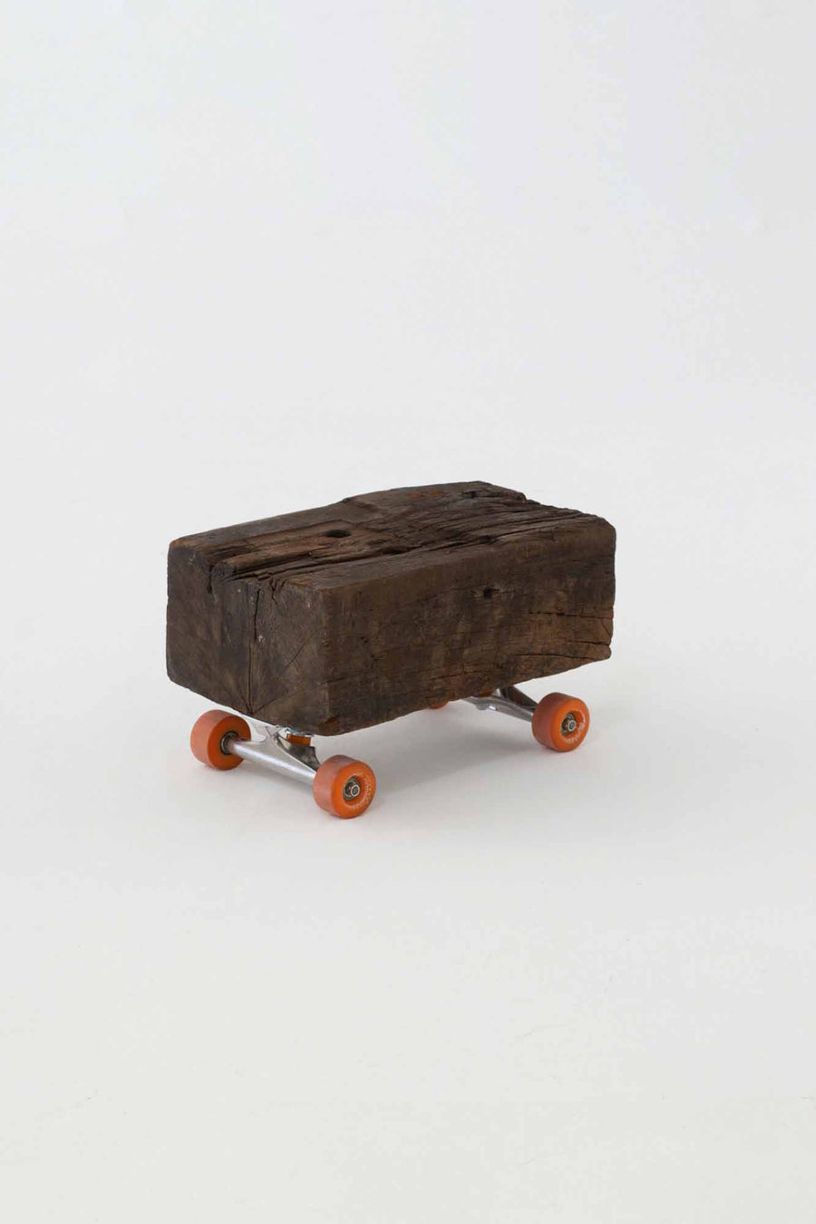 Espresso Skateboard Side Table