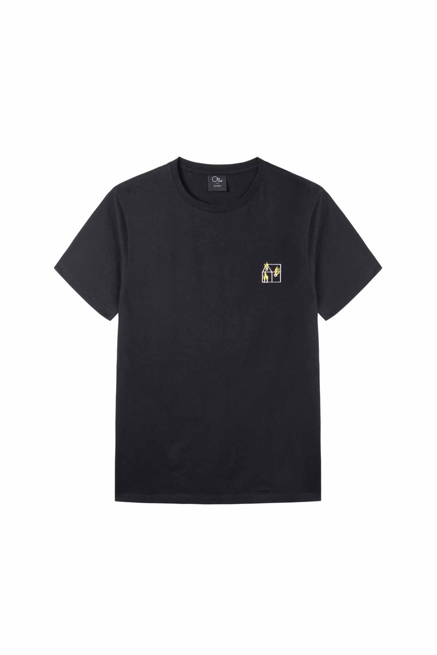 Team Crew Neck T-shirt in Black