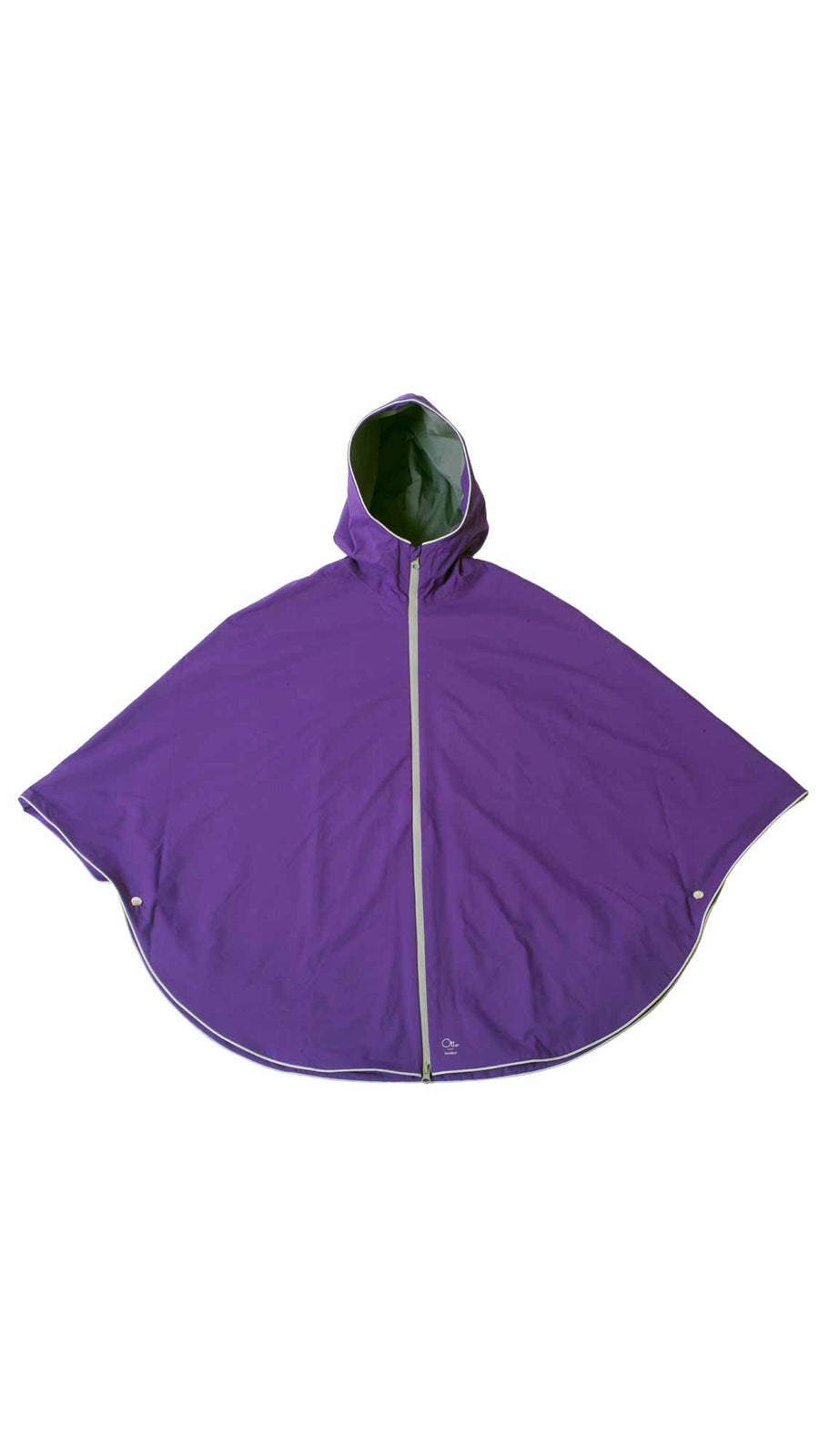 Cycling rain cape - Royal Purple Poncho